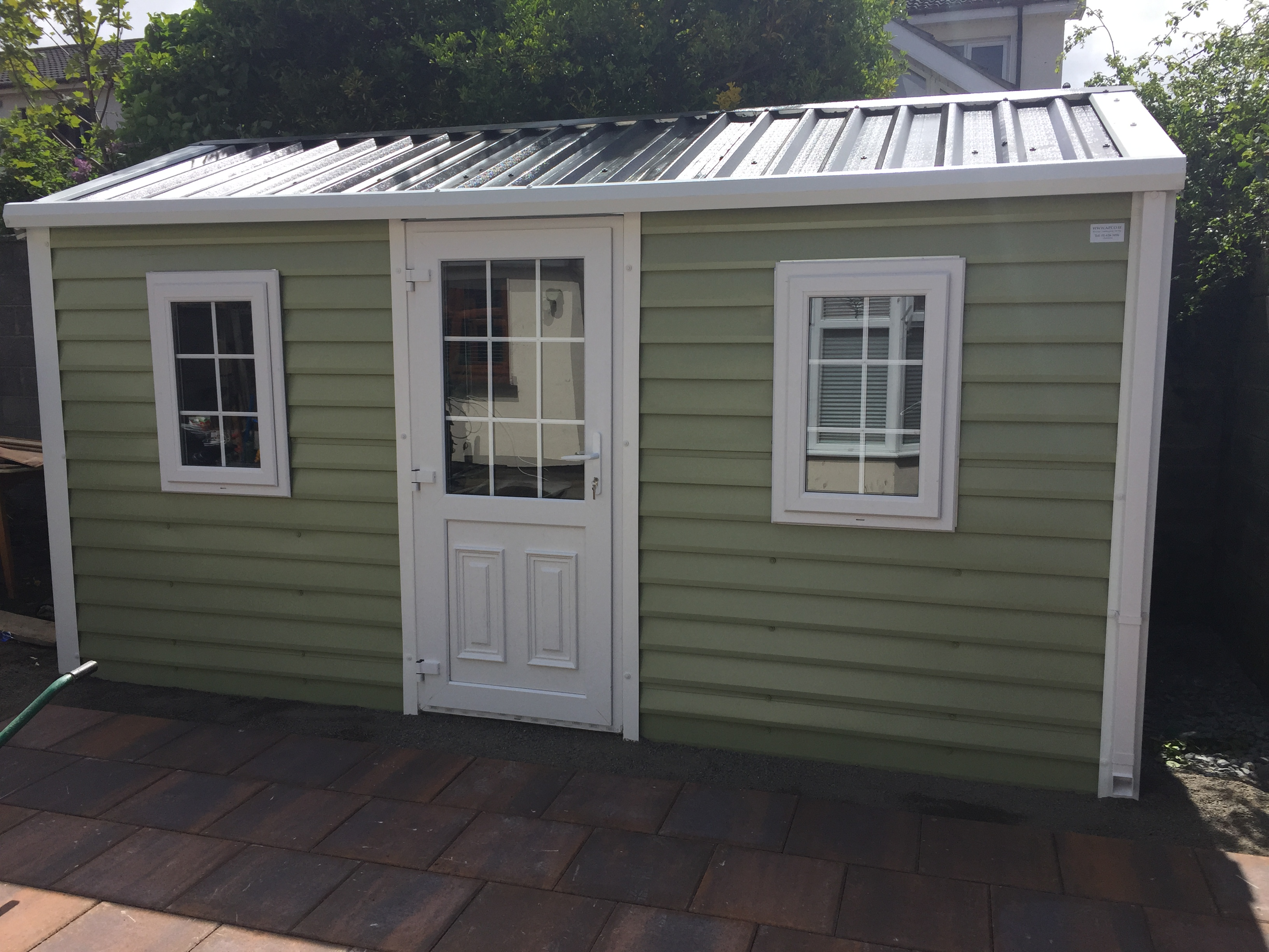 price metal shed sheds steel quality doors garden x double buy